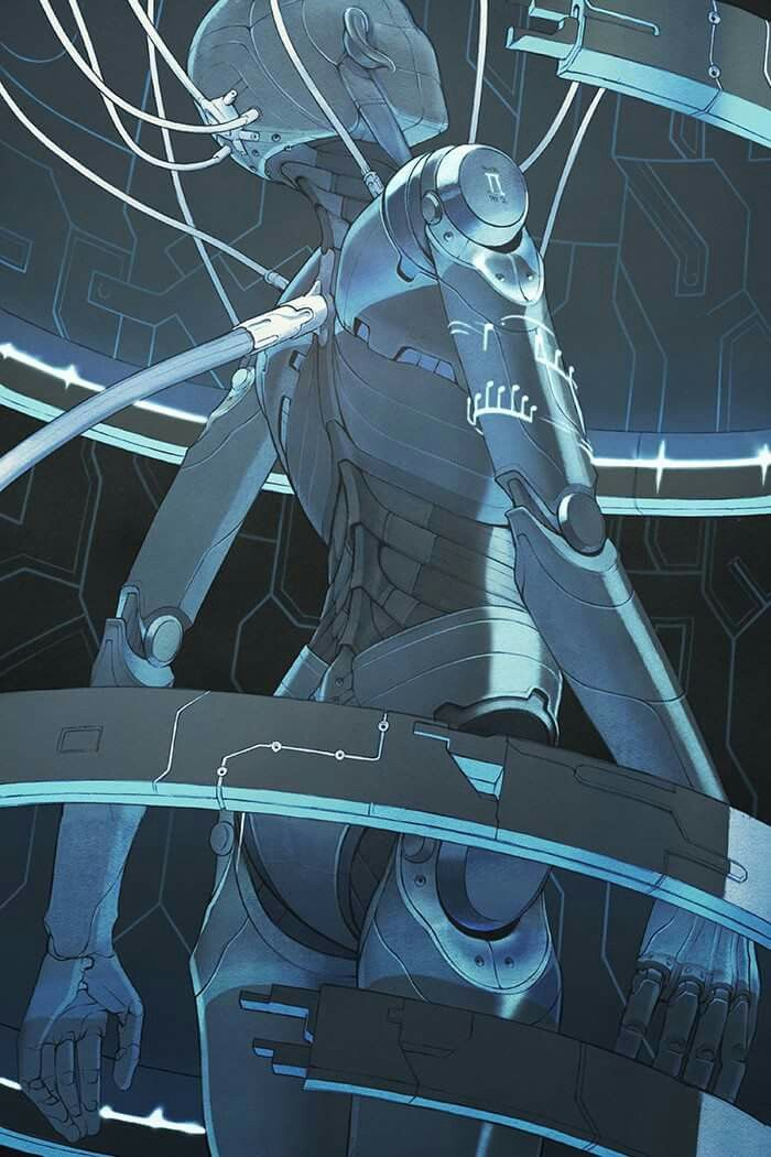 """(Open rp, be her, I'm him) I looked at the robot in the wires. I should get her out, but what if she's dangerous. I thought, the ship was crashed and all the crew were dead...or I guessed they were, i couldn't find any bodies. But this robot was locked up, was that a bad thing or was she being protected. I turned the on button and I saw her eyes open. She looked around her, and I wondered if she knew where she was. """"Uh, hello?"""" I asked, she looked at me as if she only then realized I was…"""