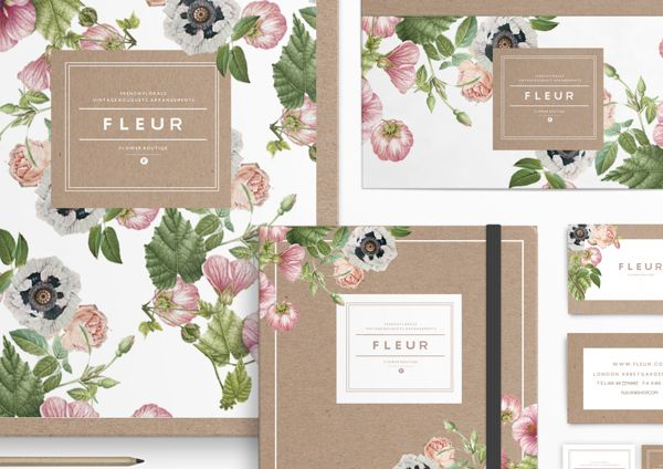 F L E U R by Judit Besze, via Behance