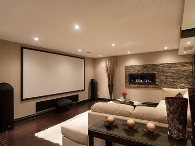 DIY Home theater ideas for your home #HomeTheater #HoeDesign #HomeDecor #EntertainmentCenter
