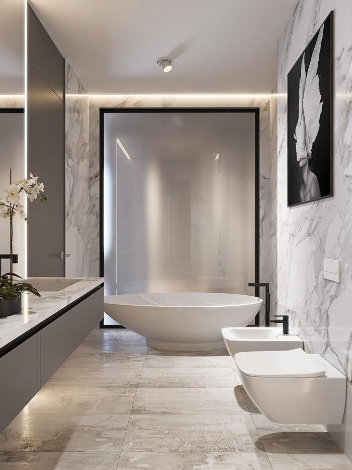 717 best Interior Design: Bathrooms and Toilets | Badezimmer und WC ...