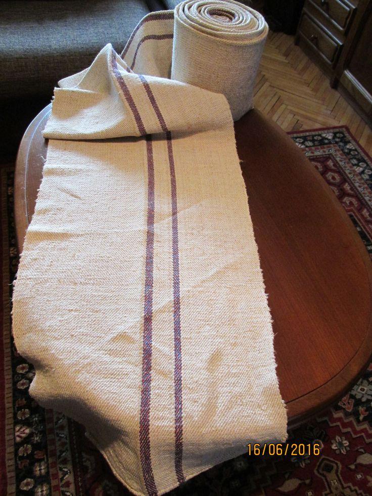 hand loomed, homespun hemp, flax fabric from Romania / Tranylvania. Age: over 60 - 80 years old may be 100 yo. At www.greatblouses.com