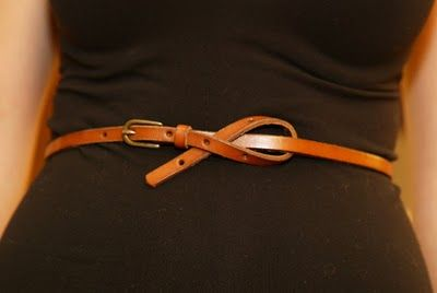Capitol Hill Style - Capitol Hill Style - All About Belts, Part III: A Few Ways to Tie Belts