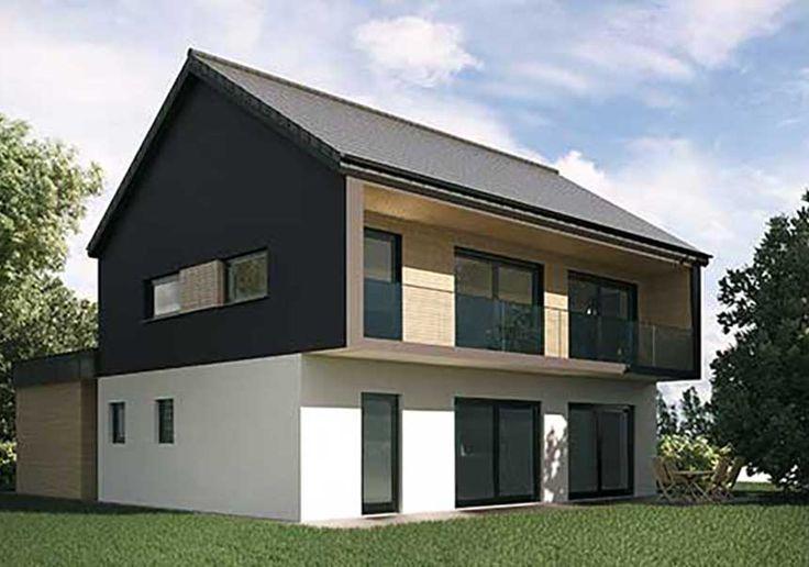 17 best ideas about construction maison bois on pinterest construction de m - Maison container alsace ...
