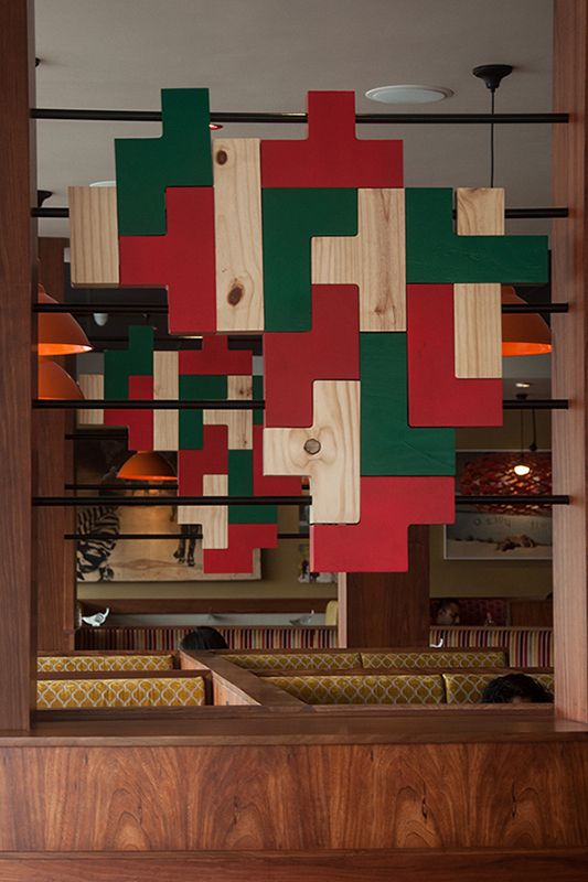 Nandos - Interior Artwork 2 on Behance