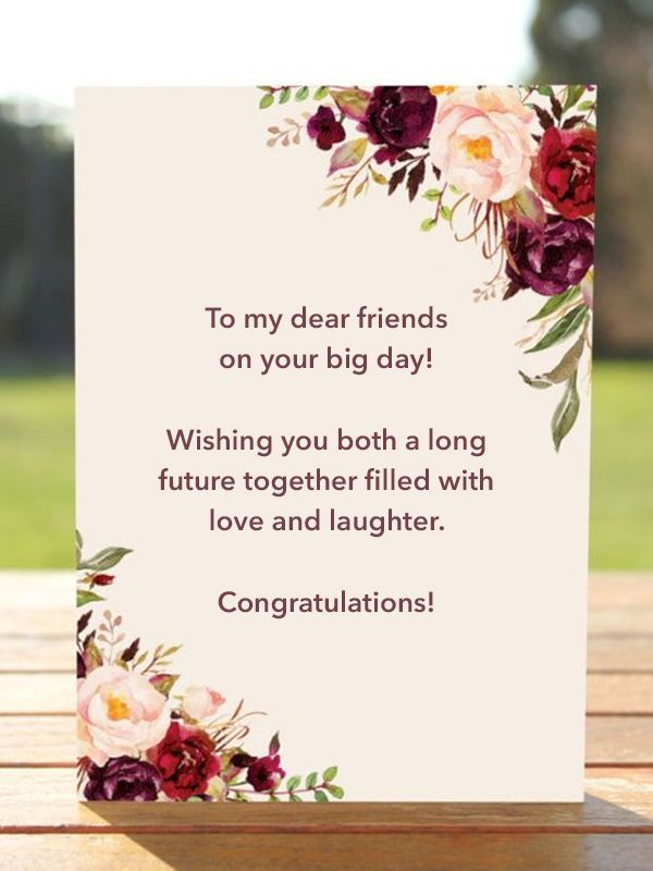 Wedding Wishes What To Write In A Wedding Card Wedding Card Messages Wedding Wishes Messages Wedding Wishes Quotes