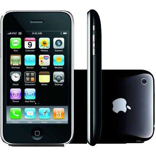 """iPhone 3GS 8GB Preto - Apple - IOS - Câmera de 3MP - 3G - Wi-Fi - GPS - Tela Multi-Touch 3,5"""" Compre em oferta por R$ 299.00 no Saldão da Informática disponível em até 6x de R$49,83. Por apenas 299.00"""