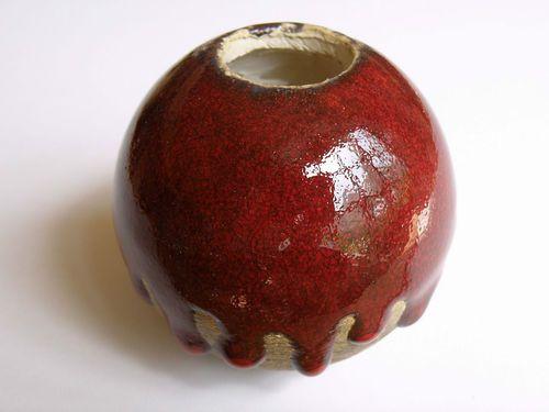Stelenteil in Keramik
