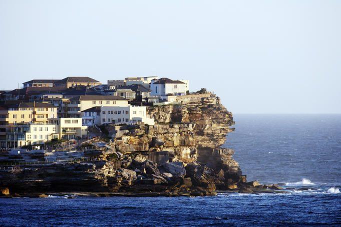 North Bondi headland, Bondi Beach, Australia. Imagine living there...