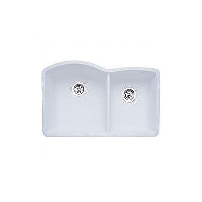 """Diamond 32"""" x 19"""" Bowl Undermount Kitchen Sink for Sale   AllModern"""