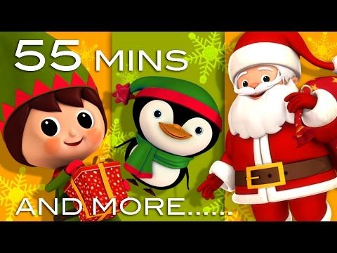 Jingle Bells   Christmas Songs   And More Children's Songs!   56 Minutes Long   From LittleBabyBum - YouTube