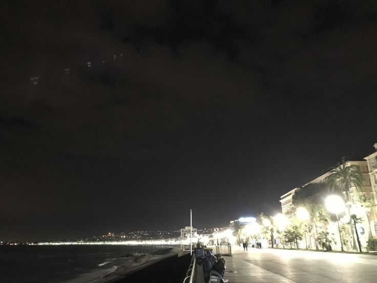 Flashing Lights  Nice, French Riviera