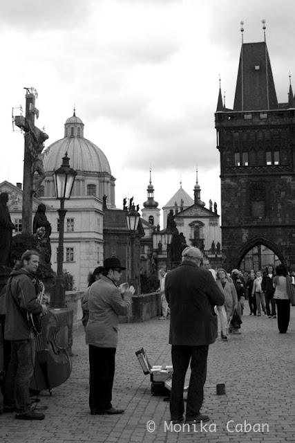 Prague, Jazz on Charles Bridge