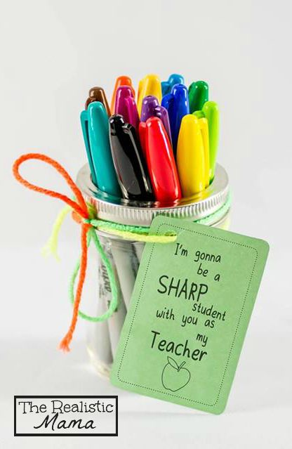 Back to School Teacher Gifts – for Under $10 – The Realistic Mama
