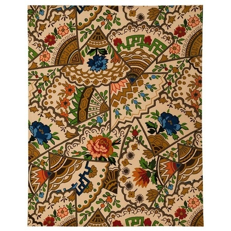 I pinned this Genevieve 8' x 10' Rug from the Decorative Carpets event at Joss and Main!