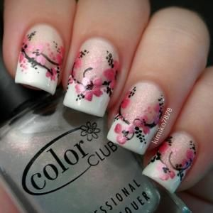 Instagram media by kimiko7878  #nail #nails #nailart by flora