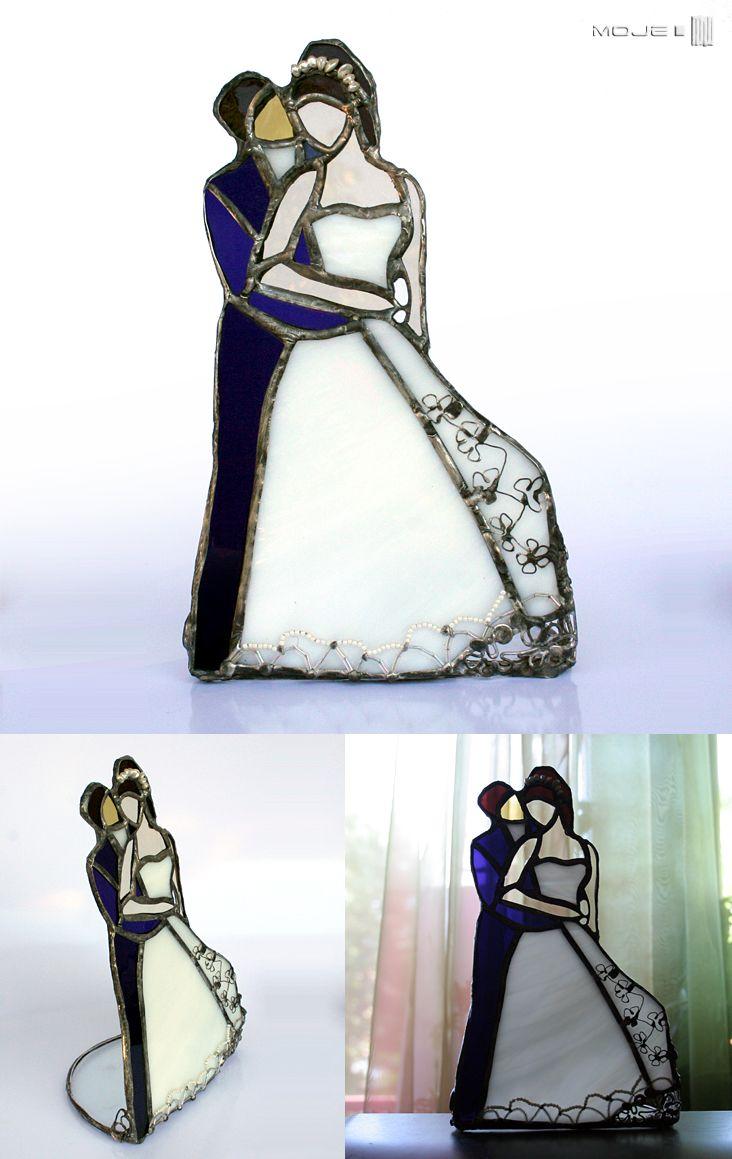Para Młoda / Married Couple.  Witraż Tiffany / Stained Glass. Moje MW