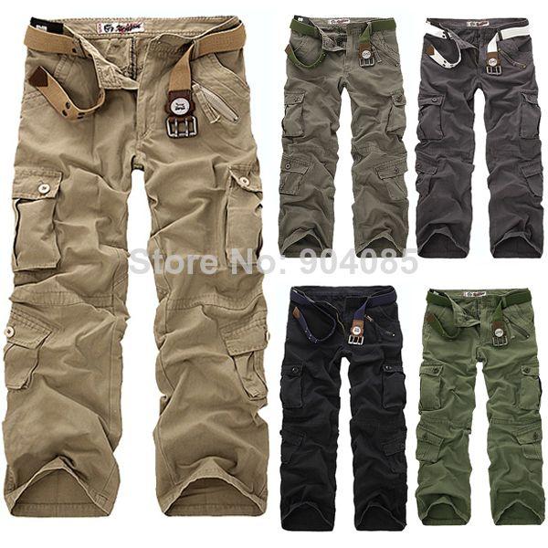 мужские брюки в стиле милитари купить в спб