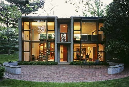Louis Kahn's Esherick House Just Sold For $900K - Following a price chop this past September, Louis Kahn's Esherick house finally sold for $900K. Though the house is one of only nine private homes built according to plans by Kahn, it only has one bedroom, and was therefore a hard house to sell.