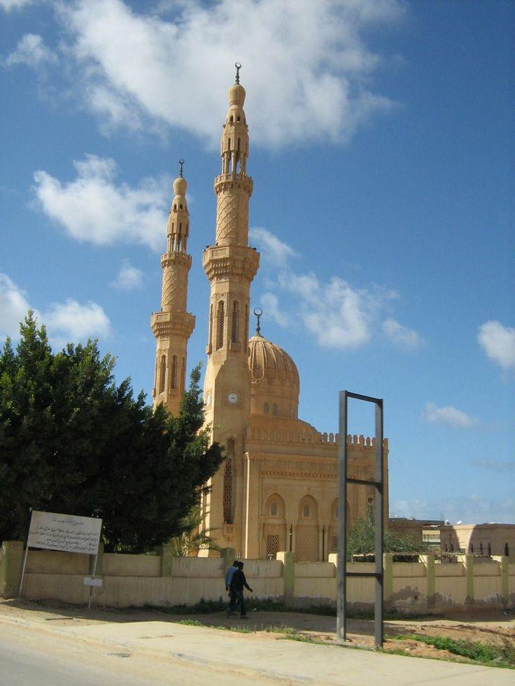 A mosque in Benghazi, Libya