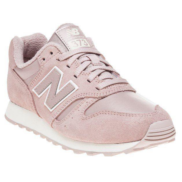 Womens Pink New Balance 373 Sneaker at