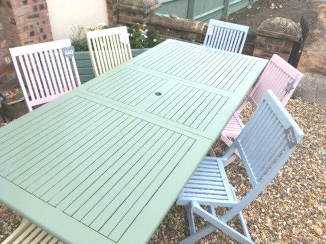 Gartenmobel Pastellfarben Streichen Outdoor Furniture Sets Garden Furniture Outdoor Decor