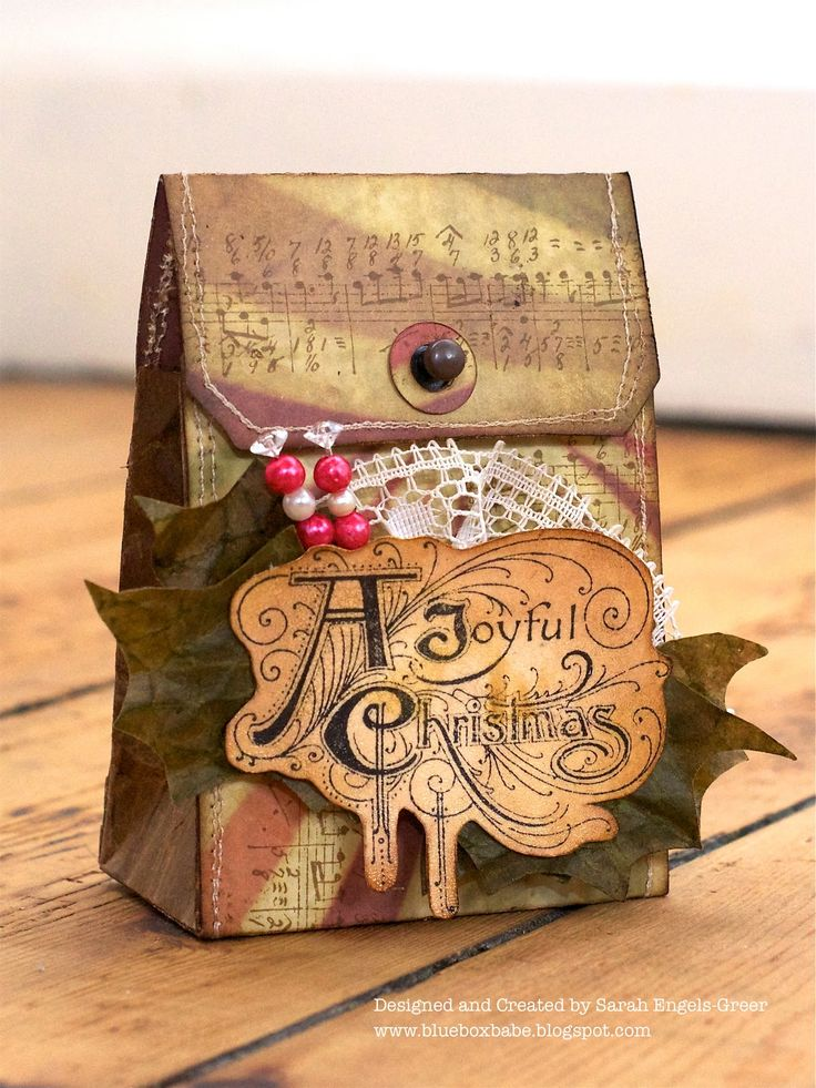 18 best Paper Bag Die images on Pinterest | Brown bags, Wrapping and ...