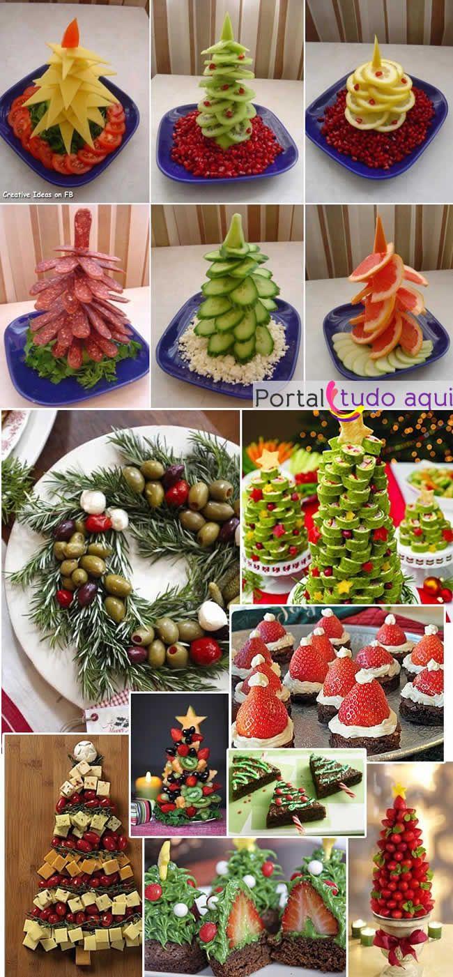 Veja nesta matéria dicas de como fazer arvores de Natal comestíveis para decoração da mesa de Natal ou Ano Novo. Elas são lindas de ver e deliciosas de comer!                                                                                                                                                                                 Mais