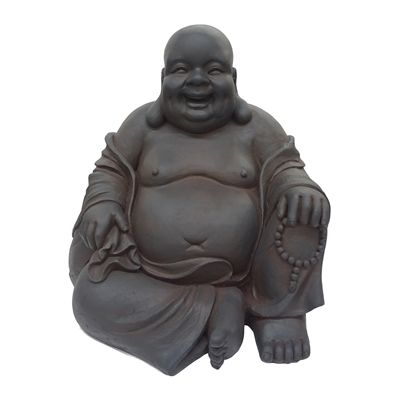 Hi-Line Gift 76305 Sitting Buddha Garden Statue