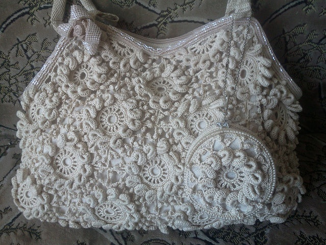 Crochet Bag Chart : nice bag + chart purse and tote ideas Pinterest