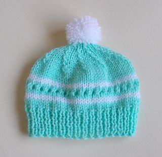 Love this cute little baby hat ~