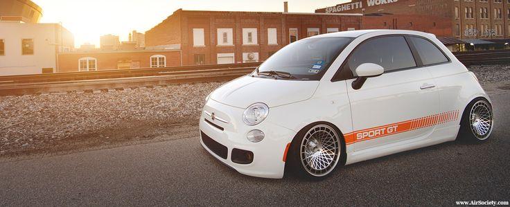 Abbassata: Cam Grizzly's Fiat 500 Sport