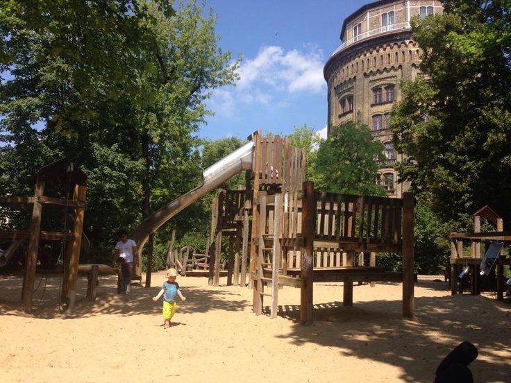 Spielplatz am Wasserturm - Kollwitzkiez - Berlin