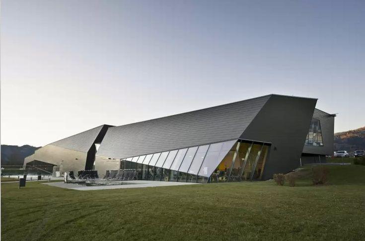 Aqualux Therme Fohnsdorf by Architekten Titus Walter Pernthaler ZT GmbH | Homesthetics