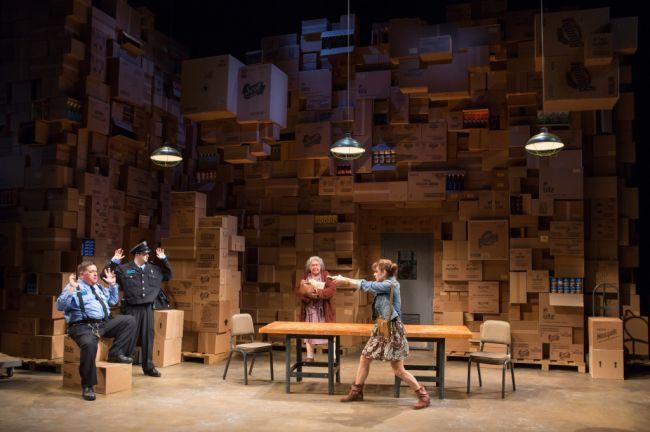 Review The Shoplifters At Arena Stage Theatrebloom Set Design Theatre Stage Design Scenic Design