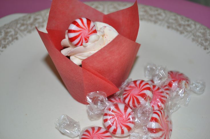 candy canes chocolates yahoo forward chocolate cupcake with candy cane ...