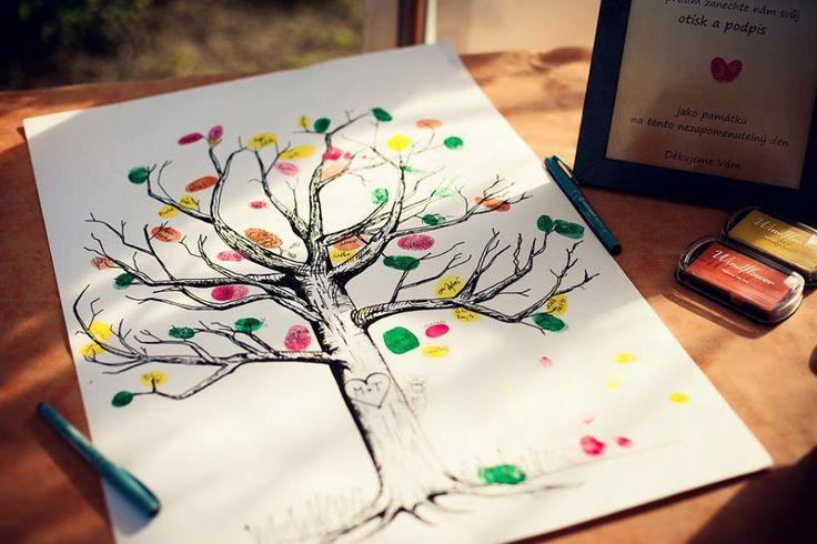 Wedding tree/Strom svatebních hostů