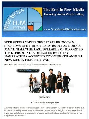 Dan Southworth Web Series Star, Also info on Machinima