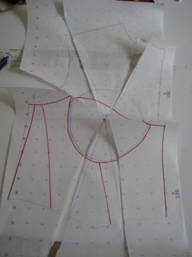 The Merry Corsetier - My method for making a corset with cups Tutorial Part 1: Patterning