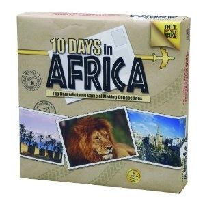 africa map memorization games