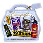 Gag Wedding honeymoon survival kit