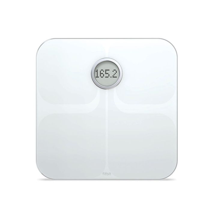 Fitbit Aria Wireless SMART SCALE App Enabled IOS Bathroom Weight Track Body