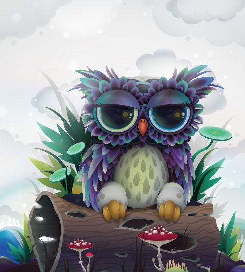 Owl character for CA Projects | Flickr - Photo Sharing!