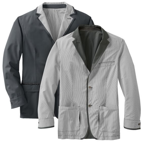 Men's Reversible Travel Blazer at TravelSmith Outfitters, Shop Our Lightweight and Packable Blazers to Save Luggage Space and Look Great Wherever You Go.