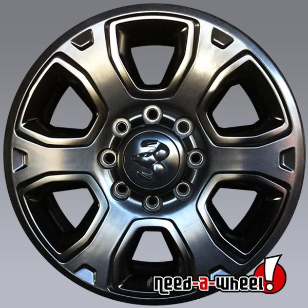 2018 Dodge Ram 2500 3500 Oem Wheels For Sale 20 Black Stock Rims 2633 Dodge Ram 2500 Dodge Ram Oem Wheels
