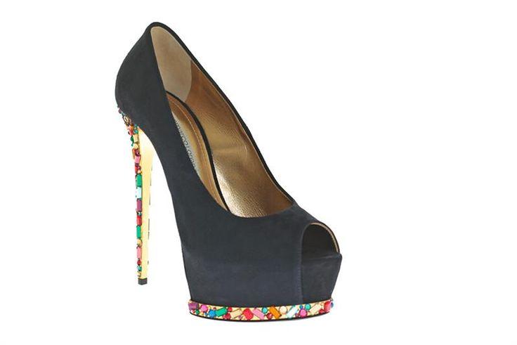 Цветные туфли la