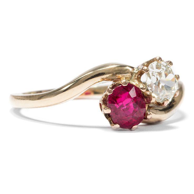 1000 ideen zu rubin diamant ringe auf pinterest juwelen cocktailringe und diamanten. Black Bedroom Furniture Sets. Home Design Ideas
