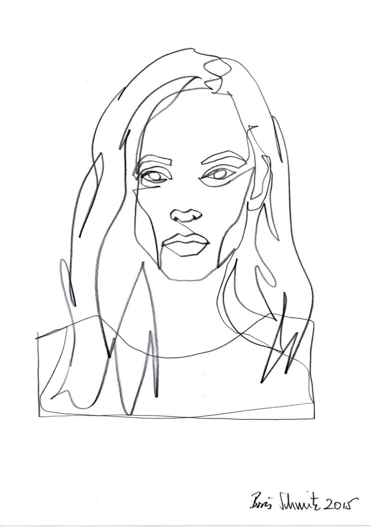 Continuous Line Drawing Of Face : Ideas about line drawing tattoos on pinterest