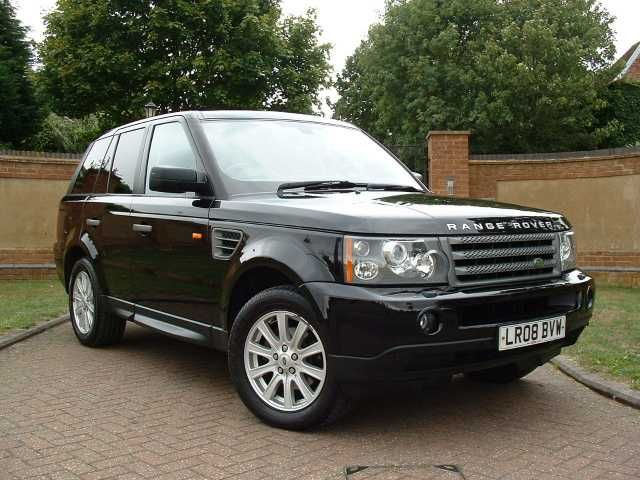 2008 Range Rover Sport 2.7 TDV6 SE 5-door automatic estate. Java Black with Charcoal Black leather interior. Full up-to-date Land Rover service history.