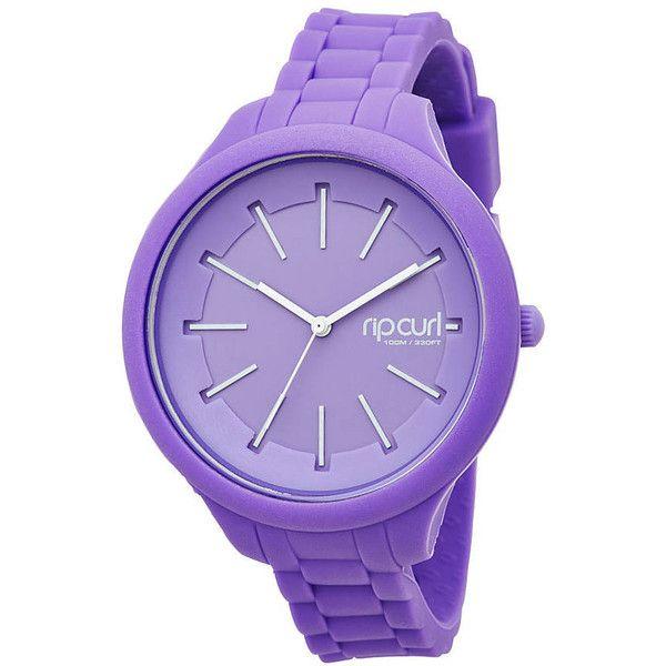 Rip Curl Women's Horizon Silicone Watch Waterproof Women's Wristwatch... found on Polyvore