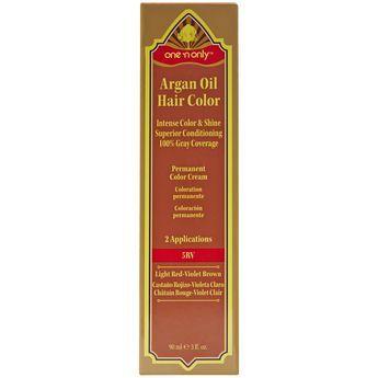 5rv Light Red Violet Brown Argan Oil Permanent Hair Color